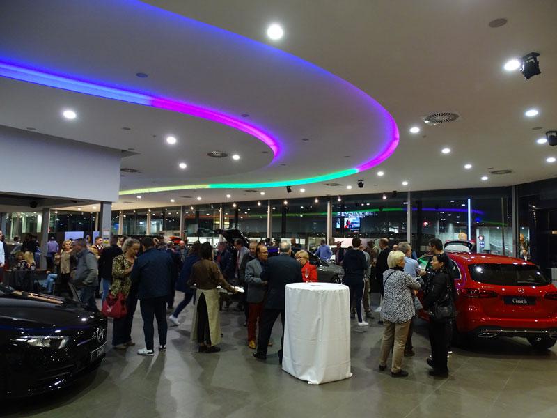 Concesionario Maserati Palma Instalaciones Electricas Globatecnic
