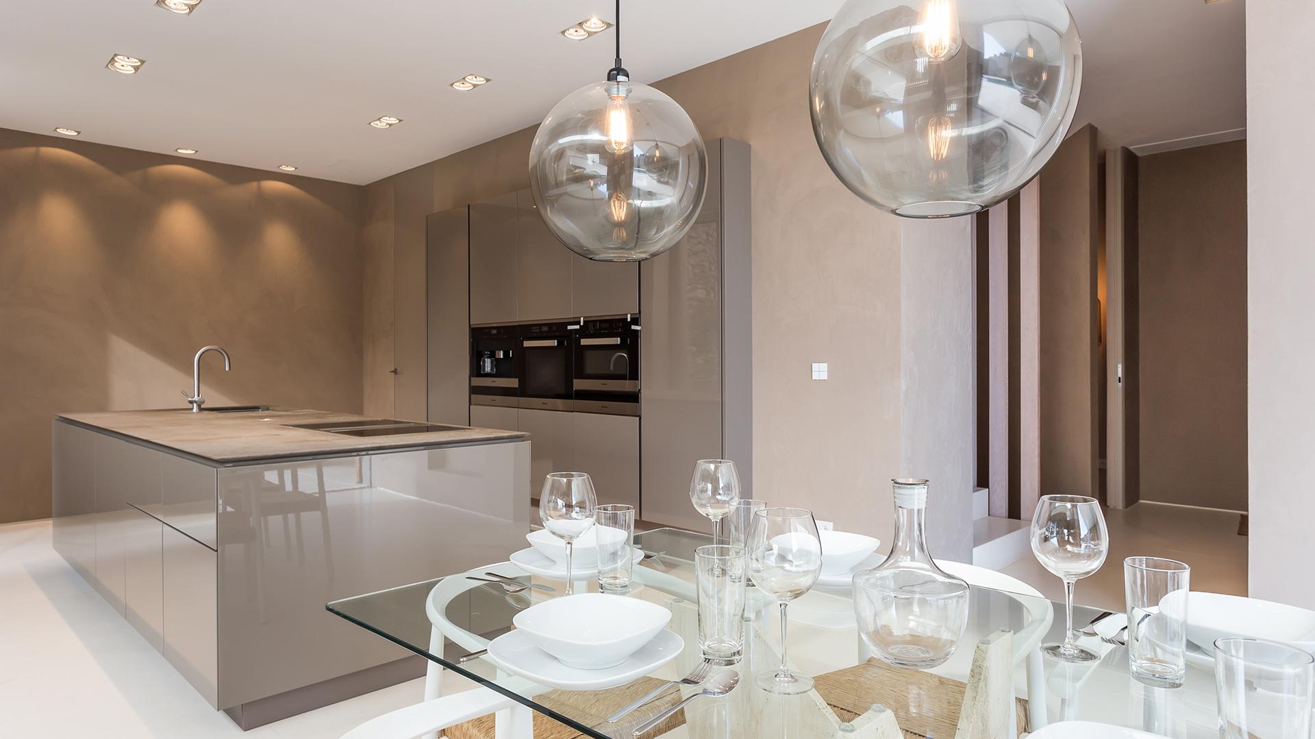 Villa Eleven cocina instalación lujo Mallorca