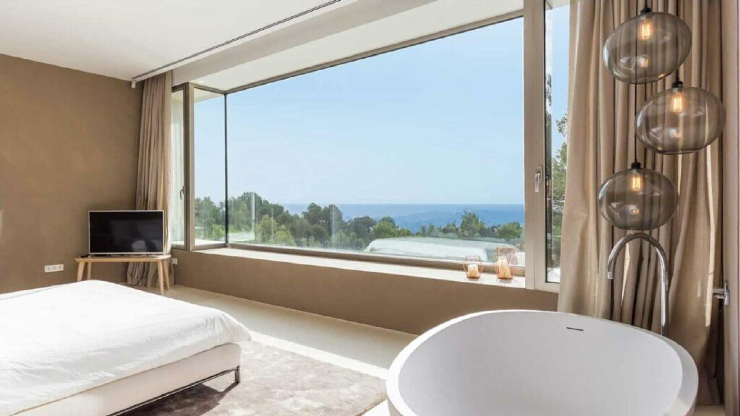 Villa Eleven habitación instalación lujo Mallorca