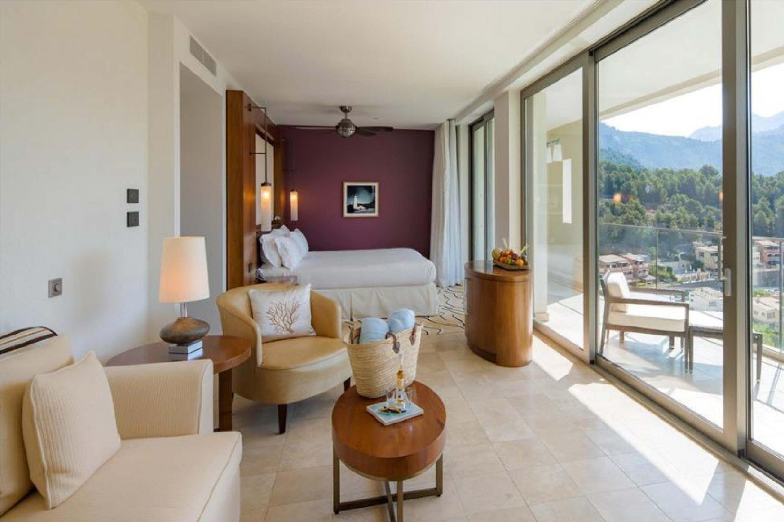 Jumeirah Port Soller Hotel & Spa salón