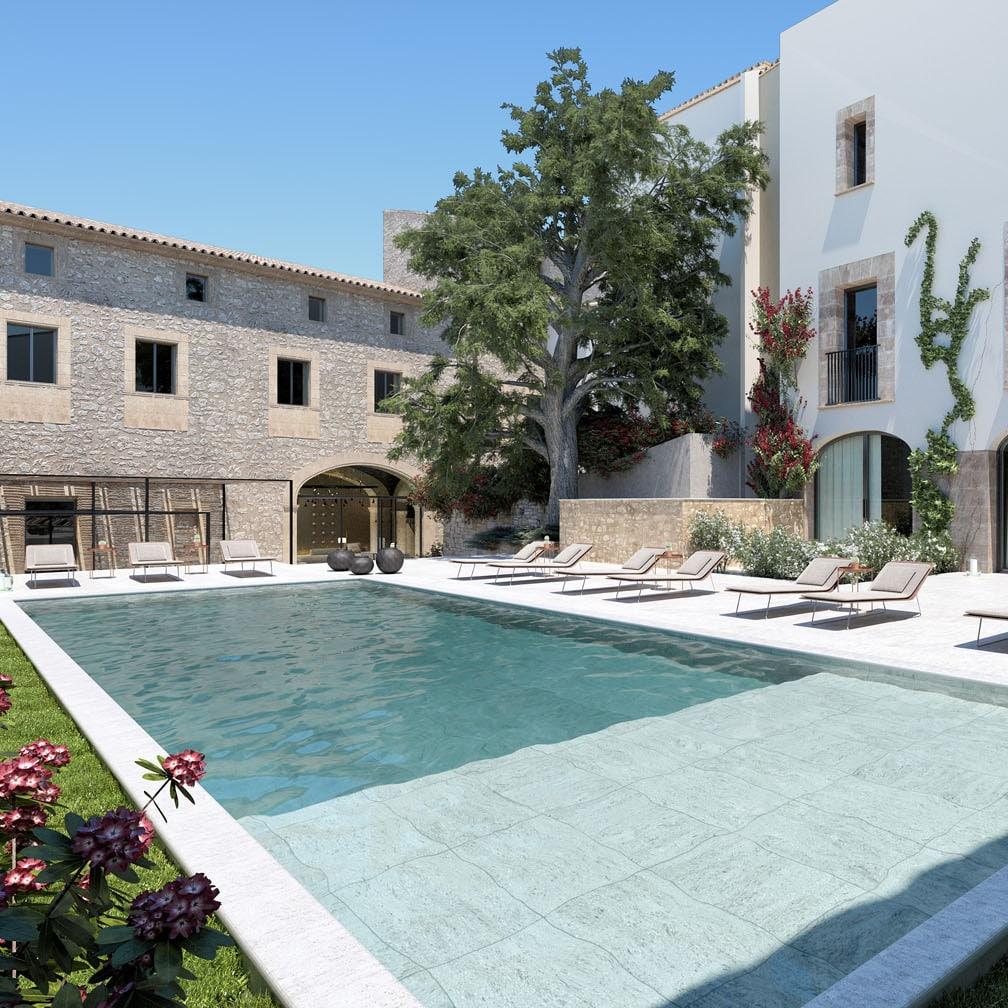 Boutique Hotel Can Aulí instalación lujo Mallorca