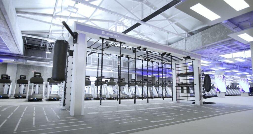 zona de ejercicio gimnasio MegaSport instalación Mallorca
