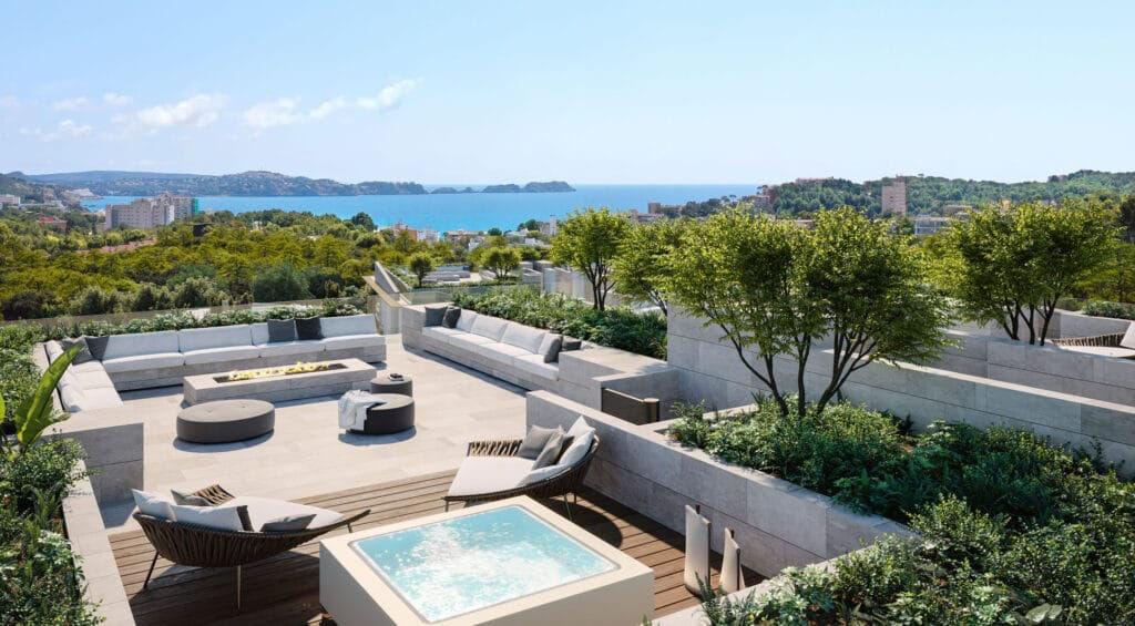 Sa Puntassa instalación residencial lujo Mallorca terraza